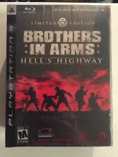 Brand New Brothers In Arms Hells Highway Limited Edition (PlayStation 3)W/Figure