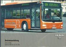 BUS MAN LION´s CITY Betriebsanleitung Bedienungsanleitung Bordbuch Handbuch BA