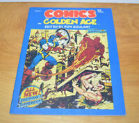 Vintage COMICS: THE GOLDEN AGE Volume 4 SC Book Magazine 1984 Captain America