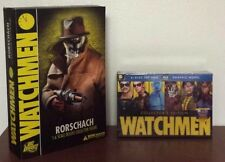 DC Direct Watchmen 1:6 Scale Rorschach Collectors Figure 2009 Bundle