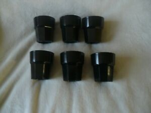 Lot de 6 Verres Multi-usages incassables 25,6 cl, Polycarbonate pour camping