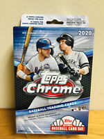 2020 TOPPS CHROME BASEBALL HANGER BOX ROBERT BICHETTE AROZARENA RC PRIZM TROUT