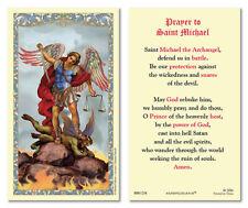 25 Laminated Holy Cards Saint Michael the Archangel Prayer
