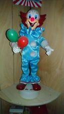 "Vintage bozo clown musical lights up""Hard to find"""