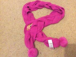 Disney store Princess scarf dark pink