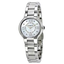 RAYMOND WEIL NOEMIA WHITE DIAL STAINLESS STEEL WOMEN'S WATCH 5927-ST-00995 NEW