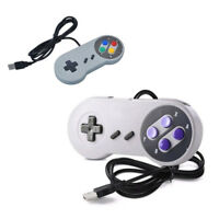 Wired USB SNES Controller Retro Gaming Joystick Joypad Gamepad For Nintendo rs