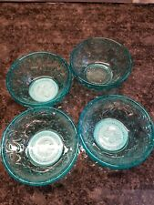 The Pioneer Woman Timeless Beauty Teal Glass Dipping Bowls Set of 4.