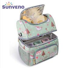 Insulated Bottles Bag Thermal Keep Fresh Bag  Baby Bottle Holder Unicorn Pattern