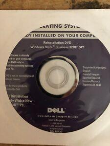 Sealed MICROSOFT WINDOWS Vista CD only