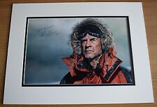 Ranulph Fiennes SIGNED autograph 16x12 LARGE photo display Explorer AFTAL COA
