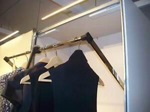 Staud Kleiderlift schwenkbare Kleiderstange für versch. Breiten