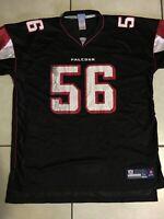 Vintage Reebok On Field Atlanta Falcons Keith Brooking Jersey Size 2 Xl