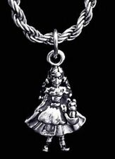 LOOK 3D DOROTHY TOTO Wizard of Oz Sterling Silver 925 charm