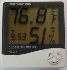 Reloj de temperatura y humedad Modelo HTC-1