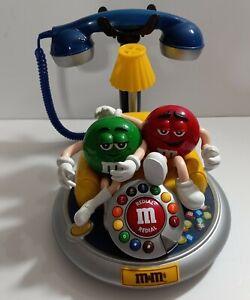 VINTAGE M&M Candy TABLE TOP TELEPHONE Phone M & M s CONVERSATION PIECE  MMS M&MS