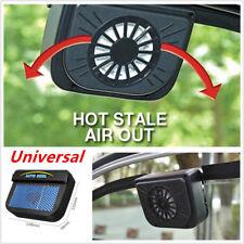 Solar Power Car Window Windshield Air Vent Cooling Fan Cooler Radiator Practical