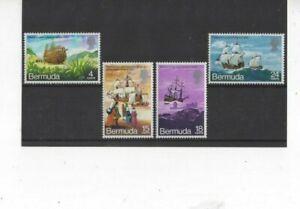 BERMUDA , 1971, SG275/8 TYPE 86  MH SET   CV £7.00+