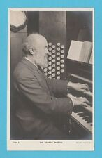 ORGANIST - ROTARY PHOTOGRAPHIC POSTCARD -  SIR  GEORGE  MARTIN  -  1901-10