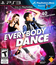 Everybody Dance PS3 MOVE NEW! JUST FAMILY PARTY FUN! LADY GAGA, USHER, LMFAO