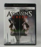 Assassins Creed (4K Ultra HD Blu-ray, 2017, 2-Disc Set, Includes Digital)