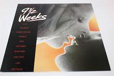 9 1/2 Weeks Soundtrack Various Artists LP Record Joe, Cocker, Devo & Bryan Ferry