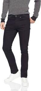 Essentials Men's Skinny-Fit Stretch Jean, Black, 28W x 28L