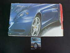 Ferrari 612 Scaglietti Sales Brochure Exterior Paint Chip Colors NEW OEM
