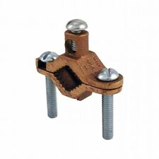 Orbit Gcb-250/400 2.5 Inch to 4 Inch Bare Ground Clamp with Steel Screw