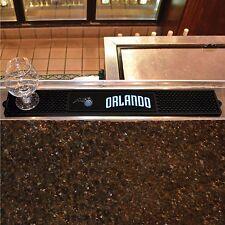 "Orlando Magic 3.25"" x 24"" Bar Drink Mat - Man Cave, Bar, Game Room"
