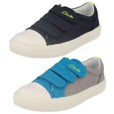 Calzado de niño zapatillas deportivas color principal azul de lona