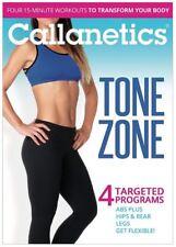 Barre Toning EXERCISE DVD - Callanetics Tone Zone - Lacey Kondi - 4 workouts