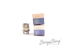 2 Vintage Westinghouse 6B10 Twin Diode Twin Triode Compactron TV Valve- BangyBan