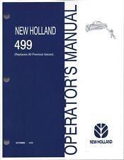 farmequipmentsalesinc ebay stores rh ebay co uk new holland 499 service manual new holland 499 haybine owners manual