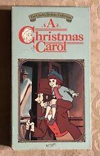 1984 A Christmas Carol (1982) Animated VHS