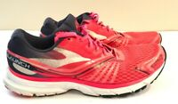 Brooks Launch 2 Athletic Running Sneaker Shoes Pink Midnight Blue Women Size 10!