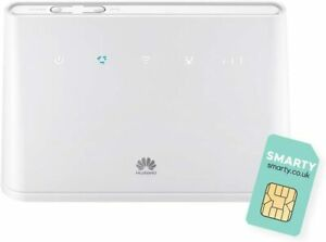 Huawei B311 2020-4G/LTE Mobile WiFi Router 150Mbps Unlocked White Modem with Sim