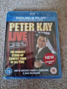 Peter Kay Live: The Tour That Didn't Tour Blu-ray & DVD - Reg B FACTORY SEALED!