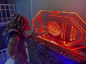 Predator 7 inch Action Figure Diorama Accessory, 1:12 scale Alien Tech