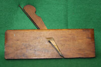 "FINE Antique Vintage 5/8"" No 165 Hollow Woodworking Moulding Plane Inv#FB12"