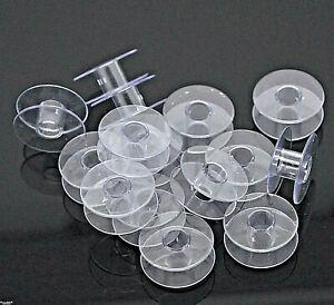 5 Vide Boîte pour Bobines Pique Aiguille Plastique Transparent - Fil Gummi