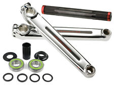 Redline Flight BMX Crank Set Chome-Moly 180mm with Mid Bottom Bracket
