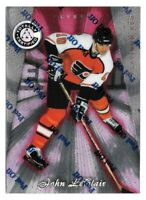 1997-98 John LeClair Totally Certified Platinum Red /6199 - Philadelphia Flyers
