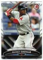 2016 Bowman Baseball Sophomore Standouts #SS-8 Rusney Castillo Red Sox