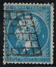 EMPIRE - N°22 - OBLITERATION GRILLE - (P1) - COTE 60€ - PETIT POINT BLANC.