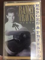 Randy Travis Heroes And Friends/Cassette/Tape/1990/Fully Play Tested