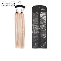 Neitsi 1Pcs Dustproof Bags Case Hair Protector Carrier Storage & Wooden Hanger