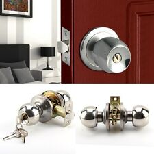 Hot Sale Door Knobs Latch Brushed Stainless Steel Entrance Privacy Passage Lock