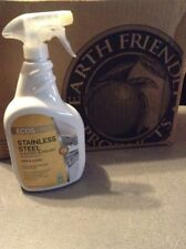 EARTH FRIENDLY PRODUCTS Metal Cleaner and Polish Bottle 32 oz PL9330/6 ECOS PRO