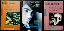 Dashiell Hammett lot of 3 The Continental Op, The Glass Key & The Maltese Falcon